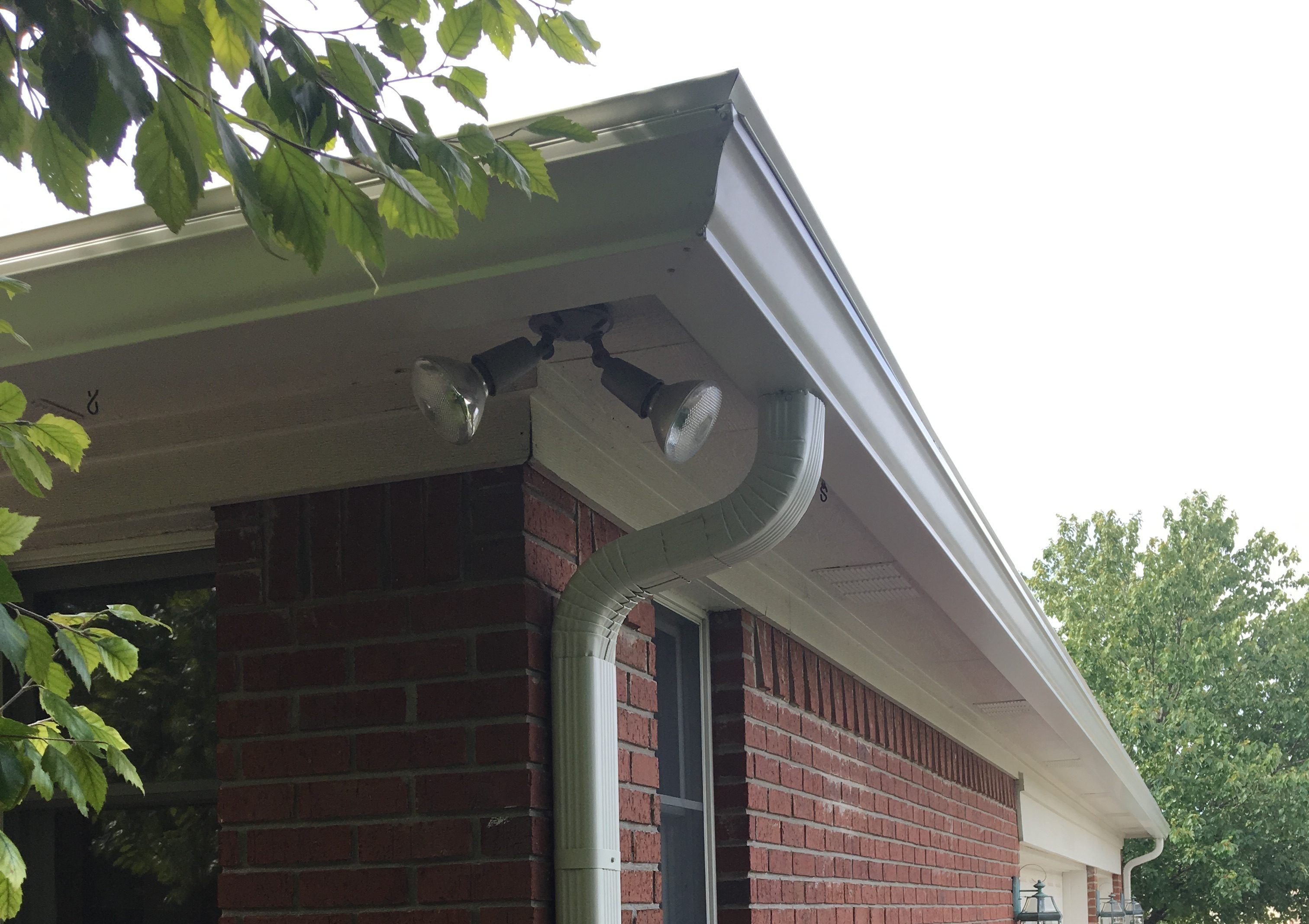Downspout And Gutter Installation All Seasons Restoration